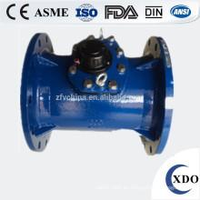 Alta calidad de gran calibre XDO prepago extraíble woltman medidor de agua