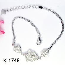 925 pulseras coloreadas plata de la joyería de la CZ (K-1748. JPG)
