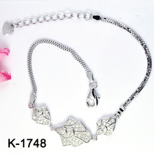 Prata 925 pulseiras coloridas da jóia de CZ (K-1748. JPG)