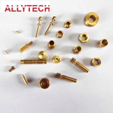 Precision Brass Parts CNC Turned Components