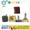 brass N/C 2 way 40mm solenoid valve water
