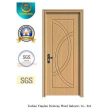 Puerta de acero de estilo moderno para habitación con color blanco (xcl-855)