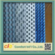 Tissu automatique coloré de Jacquard de conception de mode