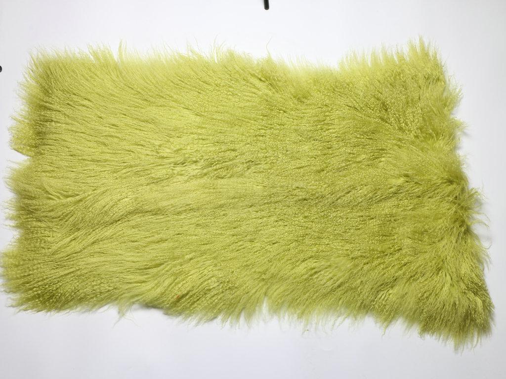 Tibetan Lamb Fur Blanket
