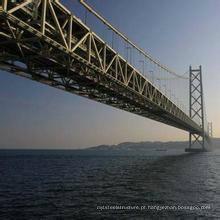 Ponte de aço projetada