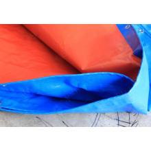 Blue/Orange PE Tarps/Plastic Tarpaulin