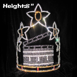 Crystal Hollywood Movie Wheel Pageant Crowns