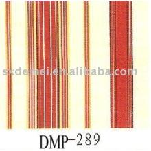 tela de la lona de rayas rojo blanco y azul