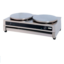 Electric two heads crepes maker