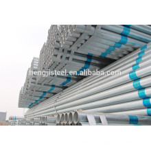 SS400 tubo de aço galvanizado quente mergulhado