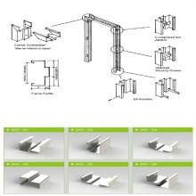 Stahlblech Garagentorrahmen Rollenformer Gerät