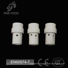 36kd co2 mig gun parts white ceramic gas diffuser