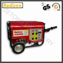 Generador portátil de la gasolina del alternador de la electricidad 5.5kVA (sistema) con trifásico