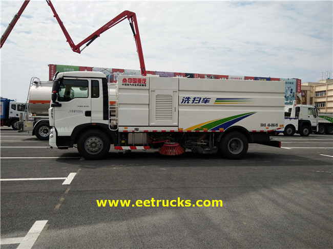 Road Sweeper Trucks