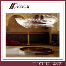 Alumium Delicate Project Crystal Chandelier Lamp for Star Hotels (121792)