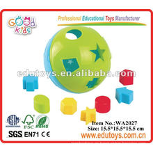 3D Plastic Puzzle Ball Juguetes para bebés