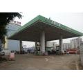 Stahlbau Tankstelle