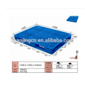 Cheap heavy duty single faced 4-way plastic pallet