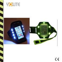 Universal Sports Bracelet Case para exterior LED Reflectante de luz