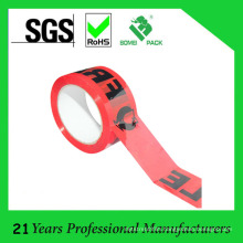 Custom Logo Printed Low Noise Silent Fragile Packing Tape