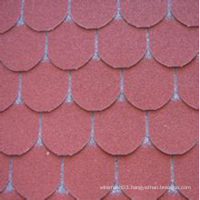 Colorful Fish Scale Asphalt Shingle of Fashion Style