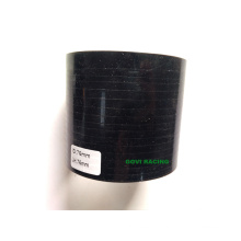 Tuyau en Silicone Automatique Voiture Droite Noir 3 '' Cou 76mm Longueur