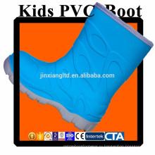 JX-916BL CE красочные ПВХ детей дождь сапоги & резиновые сапоги дождь для детей
