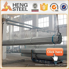 Structural scaffolding Galvanized steel pipe