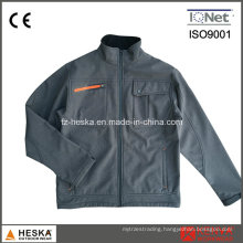 Windproof Men′s Softshell Promotional Jacket