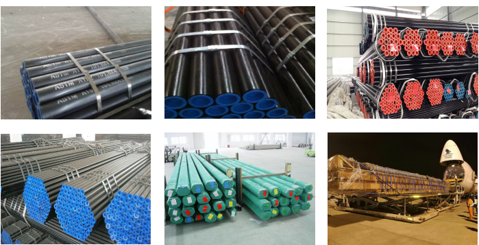 ASTM A192 seamless carbon boiler tube