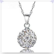 Joyería cristalina de la joyería de la manera del collar 925 joyería de la plata esterlina (NC0074)