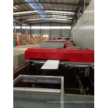 Folha de bobina 1000mm 5.5kw Main Rolling Motor Ceiling PU Sandwich Painel de produção de produção