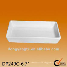 6.7 Inch Ceramic rectangular tray