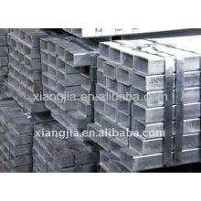 Fábrica de China del tubo de acero cuadrado 16x16 / sección rectangular / tubo rectangular