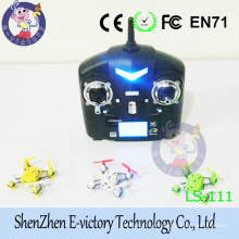 Original 2.4G 4CH 6 Axis Gyro RTF 3D Headless One Key Return RC Mini Quadcopter Drone with RC Battery