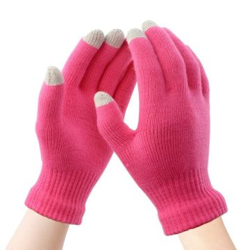 Digitek Touchscreen Handschuhe Damen Fäustlinge Winter Warme Handschuhe