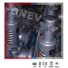 10-дюймовый предохранительный клапан большого размера класса 150 для пара