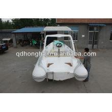 CE rib boat steering