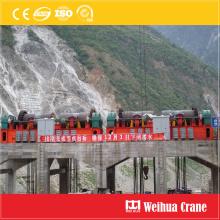 Alzamiento de la puerta de la estación hidroeléctrica