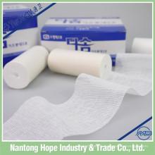 bandage de gaze de coton de matériel chirurgical