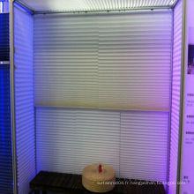 2014 Chine mini stores plissés sans fil chaud en bonne qualité, tissu plissé à stores, stores plissés en tissu