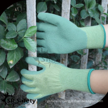 SRSAFETY safety gloves working glove/foam latex glove hand glove