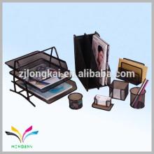 Organizador de mesa para arquivos cartões canetas material metálico novos produtos de papelaria
