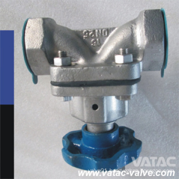 Threaded/NPT/Screwed Gg25 Cast Iron Weir Diaphragm Valve