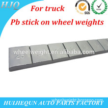 For truck lead(pb) stick on/adhesive wheel weights
