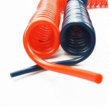 PU Schlauch 12mm Vakuum LKW Luftbremse Coiled Flexible Federschlauch