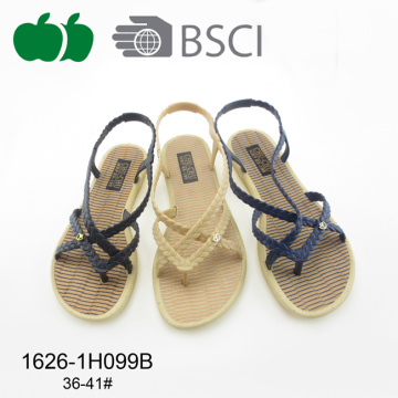 Fashion Ladies Comfortable New Designs Flat Sandals