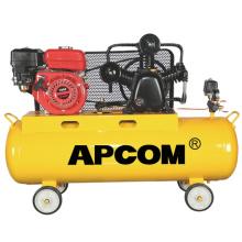 APCOM New Configuration Aircompressors GA3608 GA3012 5hp 8bar 13CFM 90 liter air tank petrol portable gasoline air compressor