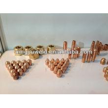 Schweißelektroden und Kappenspitze