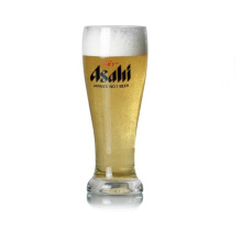 Taza hecha a mano cristalina de la cerveza de 400ml
